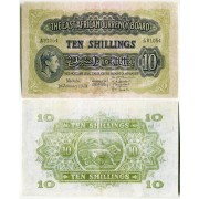 Восточная Африка 10 шиллингов 1949 года раритет East Africa 10 shillings 1949