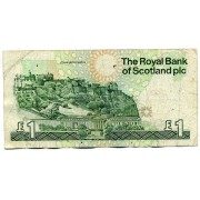 Шотландия. The Royal Bank of Scotland. 1 фунт 1988 года